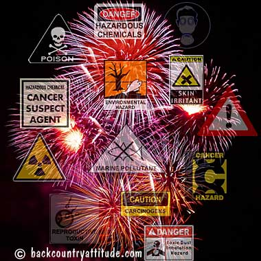 Fireworks Pollution Affects Nature