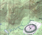 navigation with map & compass