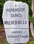 nordhouse wilderness sign